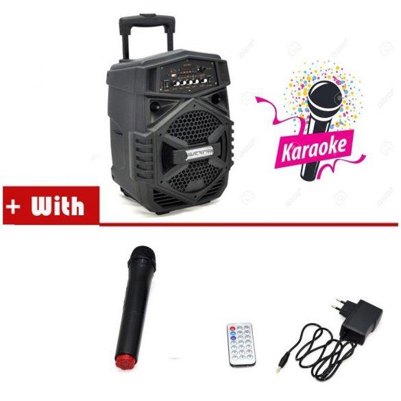 T1802 Bluetooth reproduktor s karaoke mikrofónom