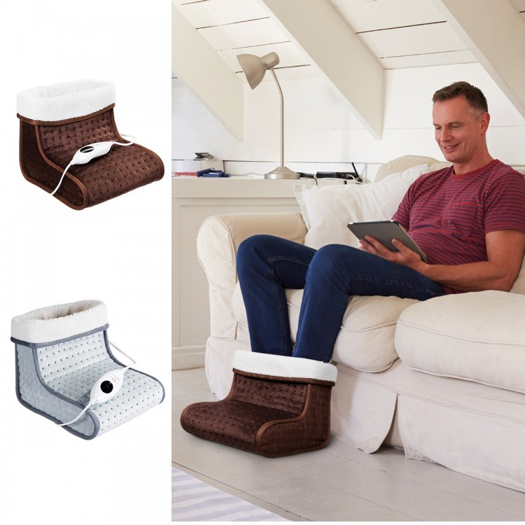 HOOMEI Výhrevná deka na nohy - HM-8750 šedá