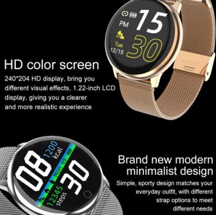 R8 Smart Watch CCC 100 Biele