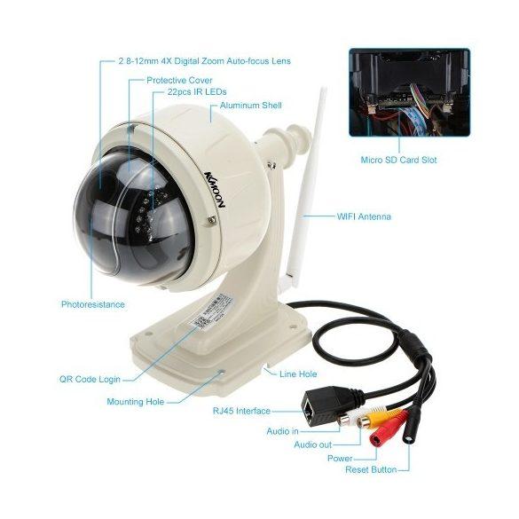 R8 Vonkajšia bezdrátová IP kamera