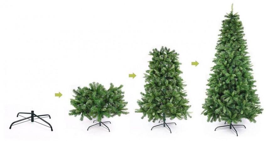 R8-GARDEN Umelý vianočný stromček nórsky 150cm