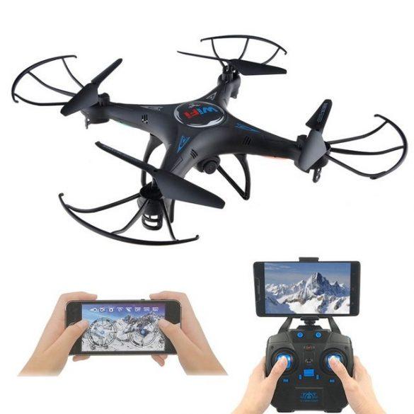 R8 KK6 Dron s kamerou Čierny